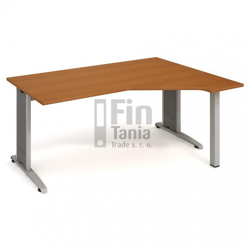 Psací stůl Hobis Flex FEV 1800 levý - 180 x 120, Typ podnože RM 200 Office Pro 099112000 Psací stoly
