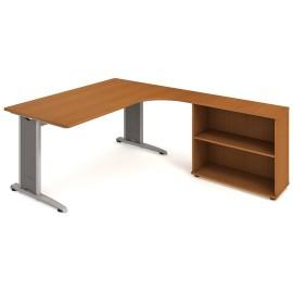 Psací stůl Hobis Flex FEV 1800 H levý - 180 x 200