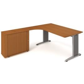 Psací stůl Hobis Flex FEV 1800 HR pravý - 180 x 200