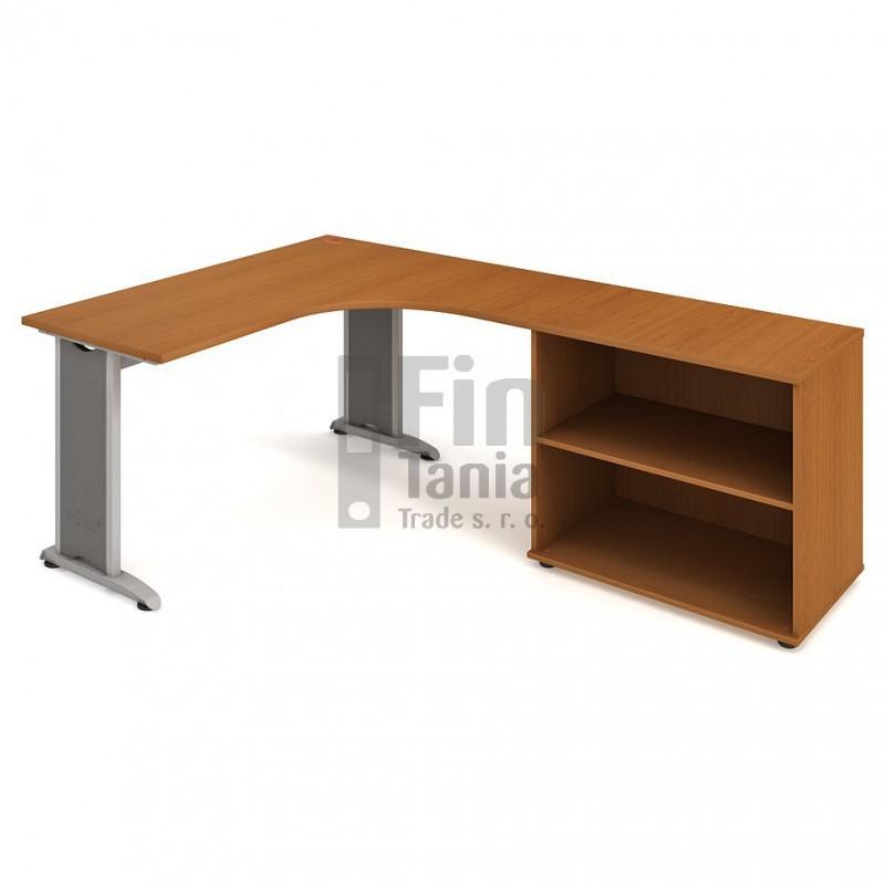 Psací stůl Hobis Flex FE 60 H levý - 160 x 200, Typ podnože RM 200 Office Pro 099132000 Psací stoly