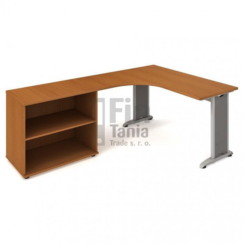 Psací stůl Hobis Flex FE 60 H pravý - 160 x 200, Typ podnože RM 200 Office Pro 099134000 Psací stoly