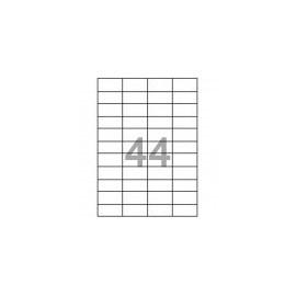 samolepicí etikety Print 48,5 x 25,4 mm, 44 ks na archu