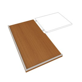 Kuchyňská pracovní deska  HOBIS DEP 300 L, levá