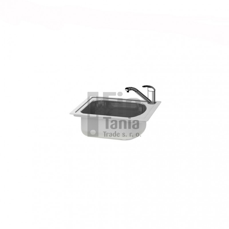 Kuchyňský dřez bez odkapávače Hobis DRE P pravý 099180600