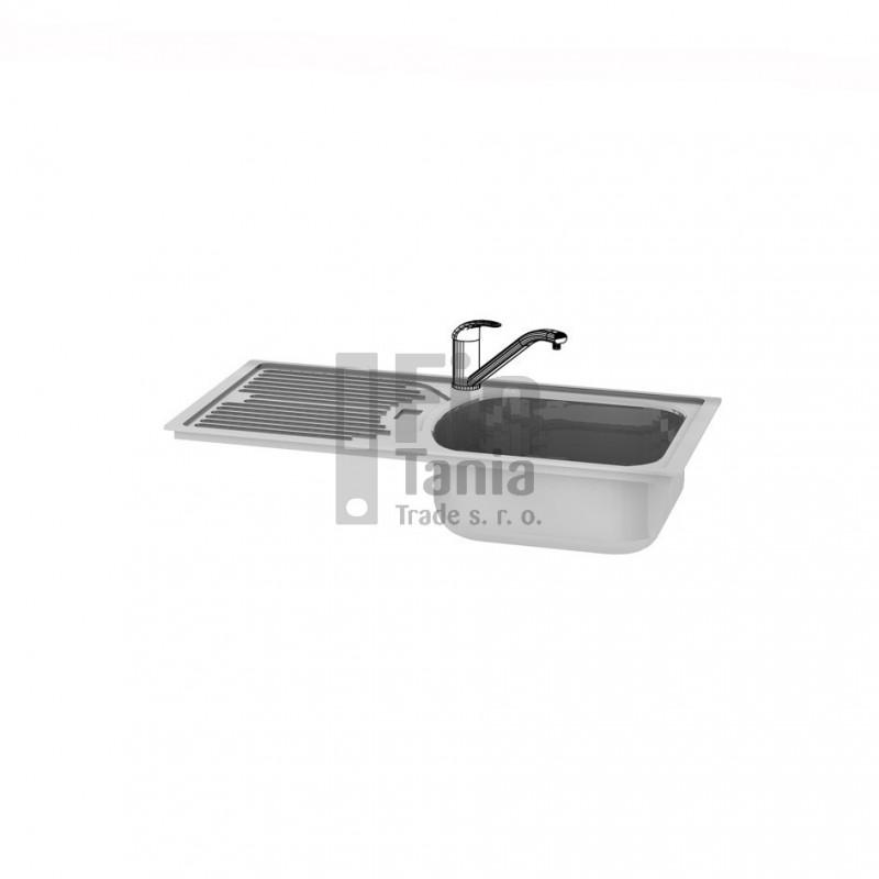 Kuchyňský dřez s odkapávačem Hobis DRE OL levý 099180700