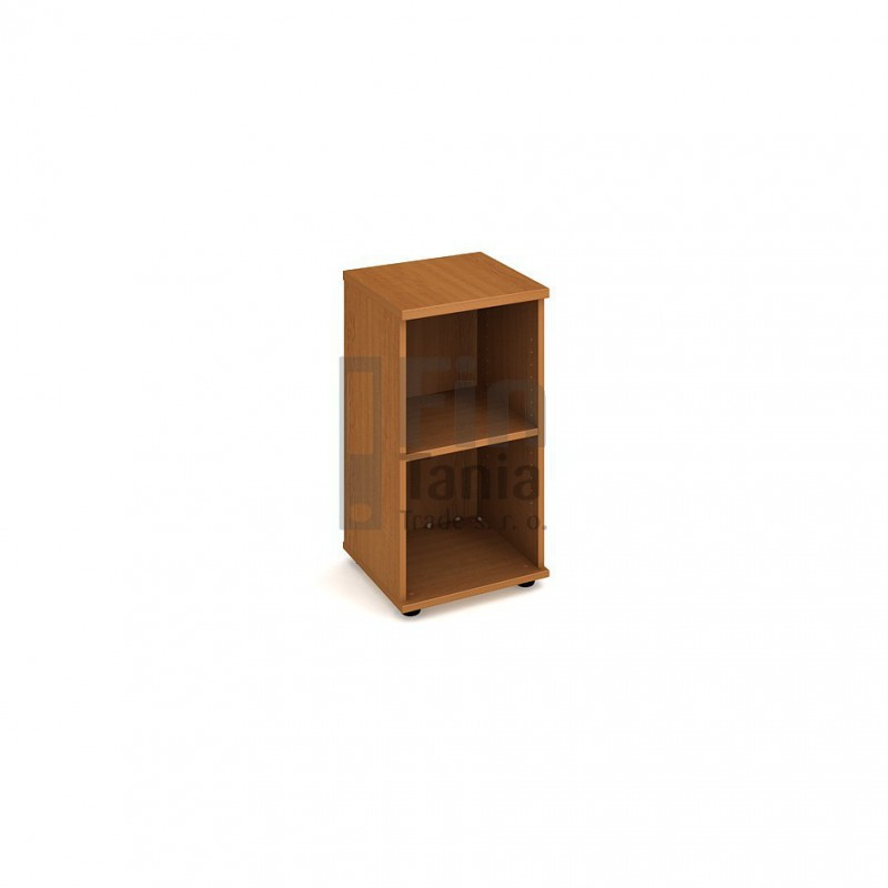 Kancelářská skříň Hobis ke stolu SP 40 40 - 40 x 40, Barva korpusu Ořech Office Pro 099208000 Policové skříně