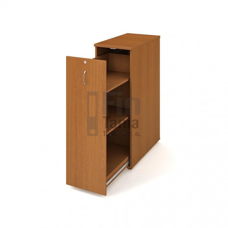 Skříň Hobis na šanony SPV 3 L - 40 x 80, Barva korpusu Ořech Office Pro 099218000 Policové skříně