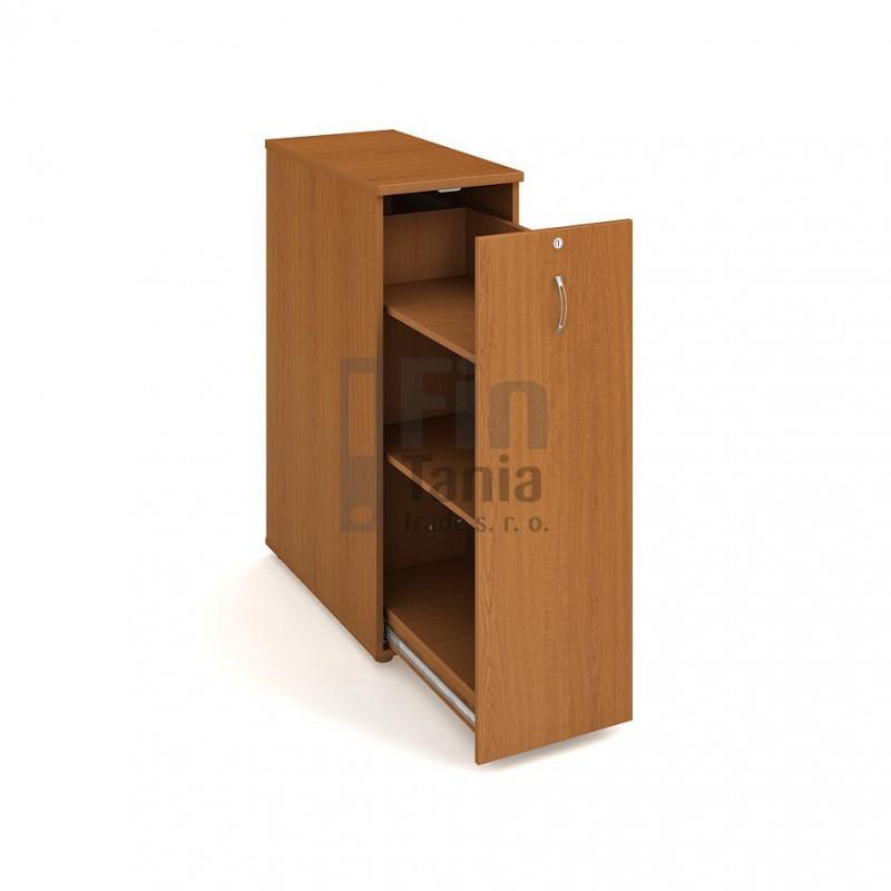 Skříň Hobis na šanony SPV 3 P - 40 x 80, Barva korpusu Ořech Office Pro 099219000 Policové skříně