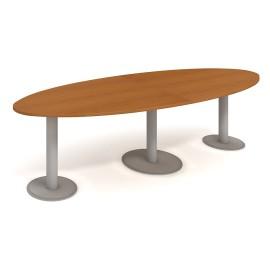 Stůl jednací HOBIS elipsa 300cm JS 3000 C