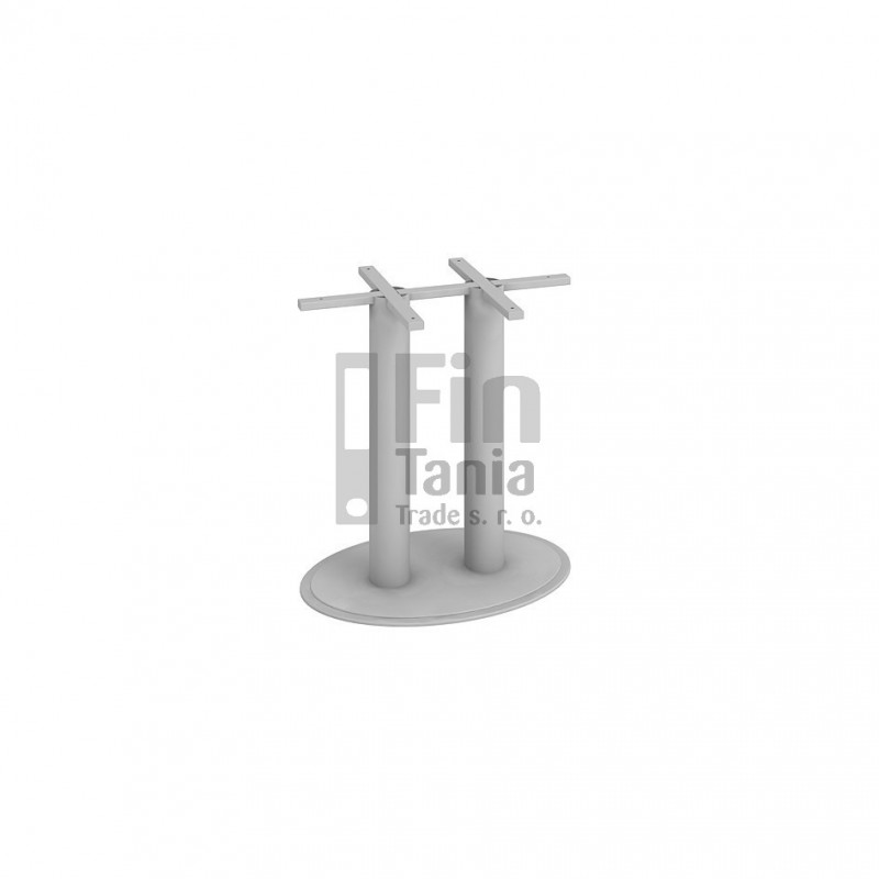 Stolová centrální noha Hobis CNO 730 700 - 70 x 73, Barva nohou černá Office Pro 099240000 Konferenční stolky