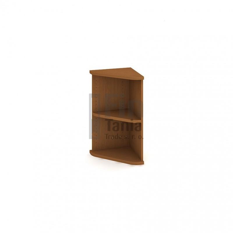 Skříň Hobis Strong SR 2 - 40 x 40, Barva korpusu Ořech Office Pro 099603000 Policové skříně