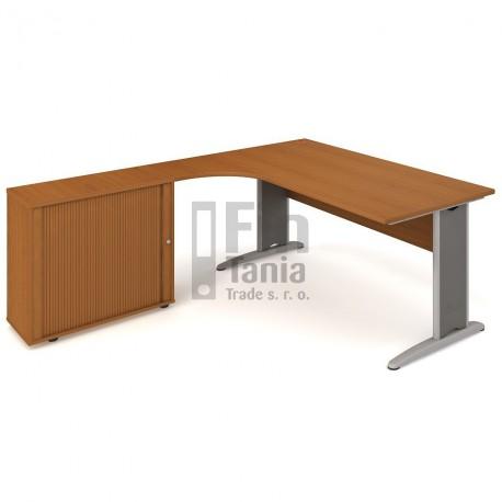 OfficePro stůl Hobis Cross CE 1800 HR P - 180 x 200