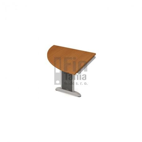 Psací stůl kancelářský Hobis Cross CP 901 doplňkový levý