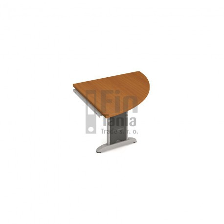 Psací stůl kancelářský Hobis Cross CP 901 doplňkový pravý