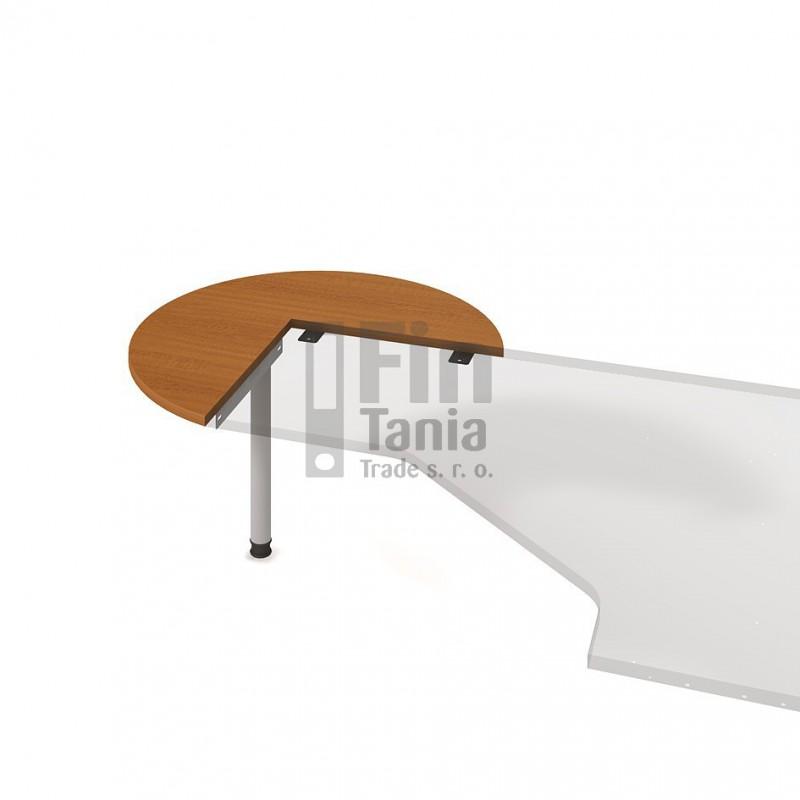Psací stůl Hobis Gate GP 21 L, Barva Akát Office Pro 098003398 Psací stoly