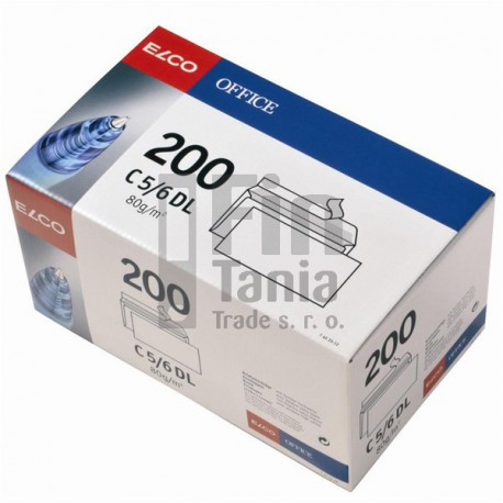 Obálky ELCO_DL samolepicí, BOX 200 ks