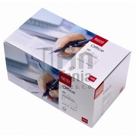 Obálky ELCO_DL samolepicí s oknem vpravo, BOX 200 ks
