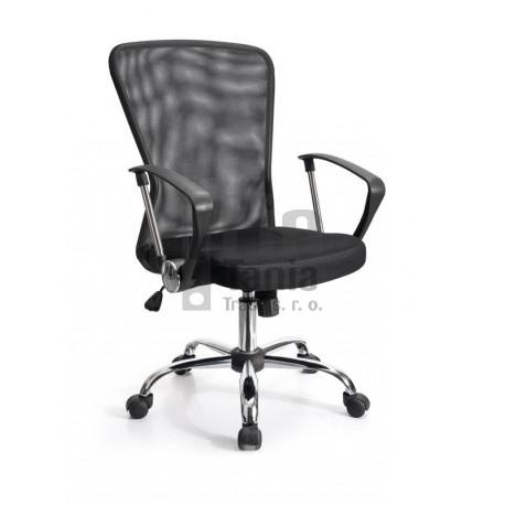 Kancelářská židle - křeslo SAMBA černá
