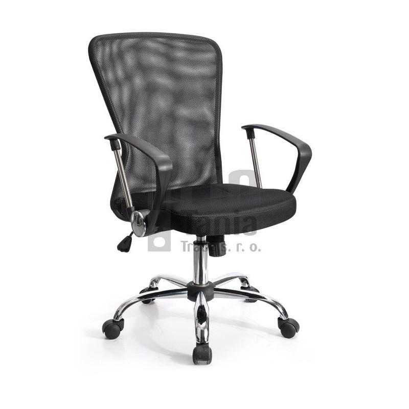 Kancelářská židle - křeslo SAMBA černá 073306100 Kancelářské židle a křesla