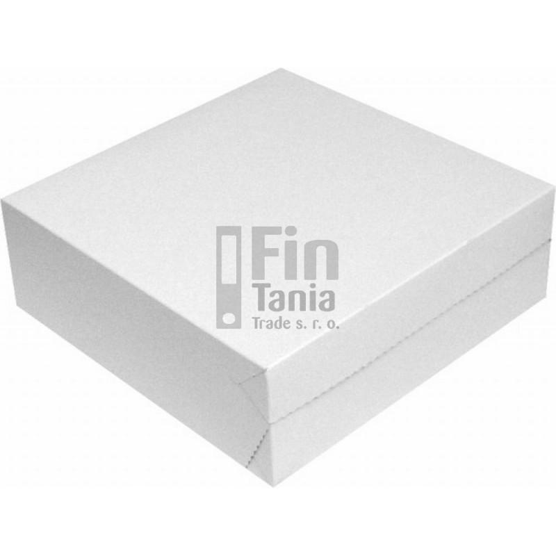Dortová papírová krabice 29x29x10 cm 030701700