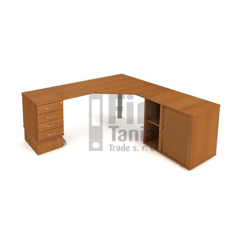 Stolová sestava Hobis FLEX SF 1, Barva stolové desky Olše 071529100