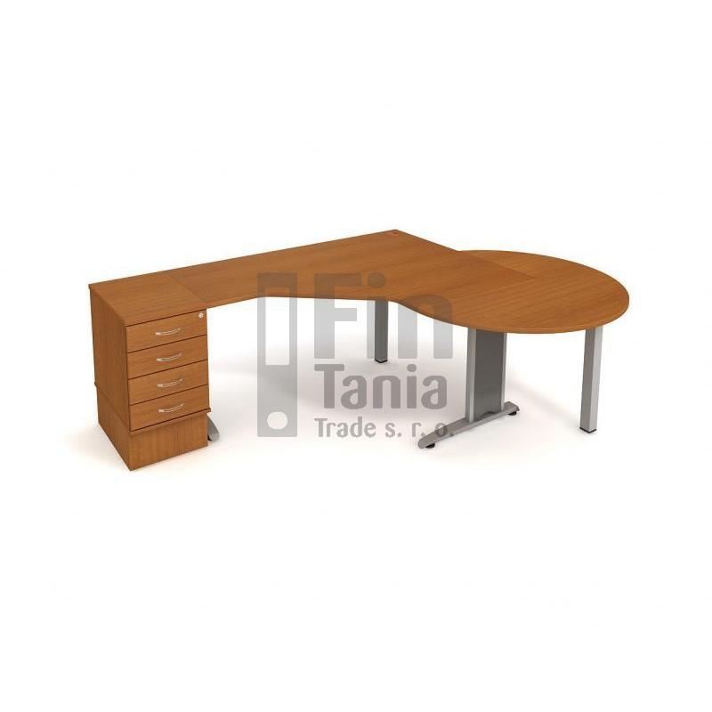 Stolová sestava Hobis FLEX SF 2, Typ podnože RM 100 071529200