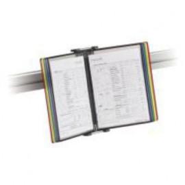 Závěsný držák dokumentů SU 140, Manade - Surf, stříbrný