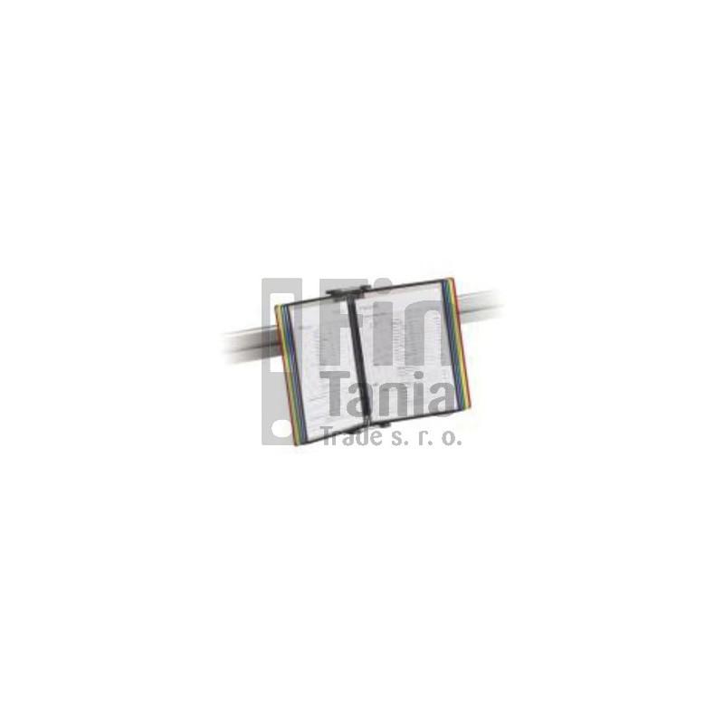 Závěsný držák dokumentů SU 140, Manade - Surf, stříbrný MANADE 075012521