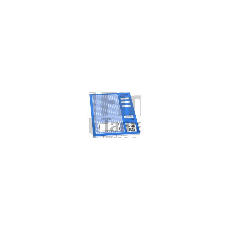 Blok A5 poznámkový čistý 011200600