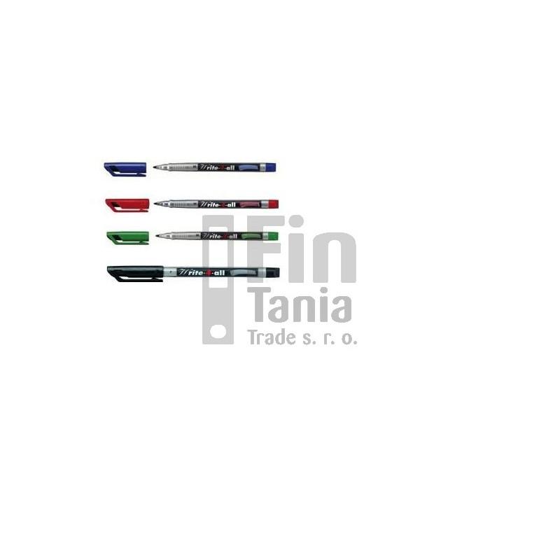 Popisovač Stabilo Write-4-all 166 0,4 (4 barvy), Barva Černá 033002502