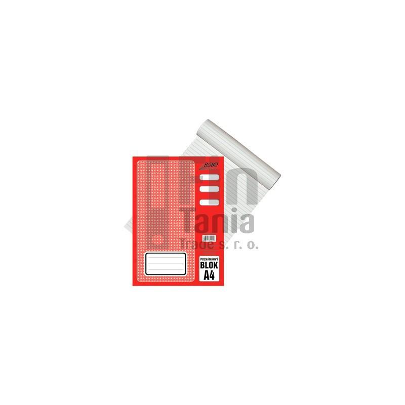 Blok A4 poznámkový linkovaný 011201000