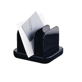 Plastový stojánek Tenex na papírky, černý