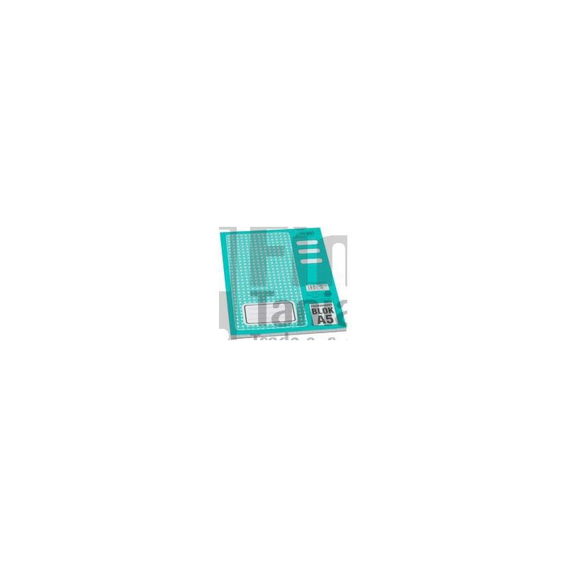 Blok A5 poznámkový čtverečkovaný 011201400