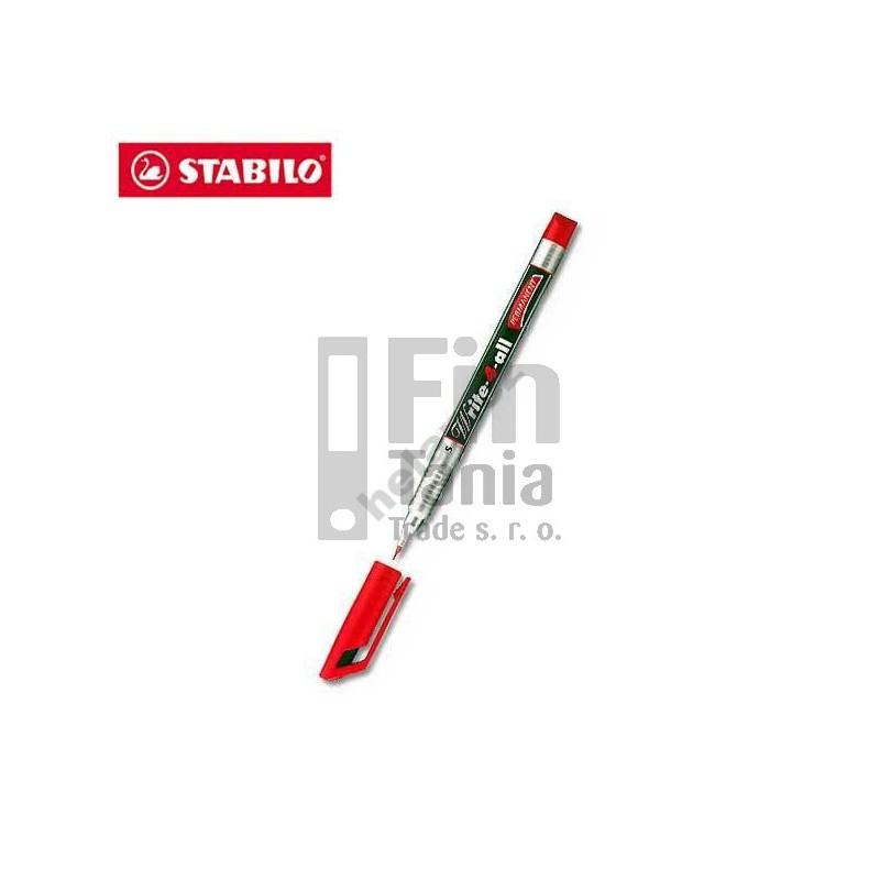 Popisovač Stabilo Write-4-all 146 (2 barvy), Barva Zelená 033002809