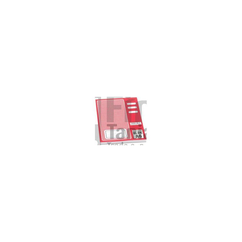 Blok A6 poznámkový linkovaný 011201600