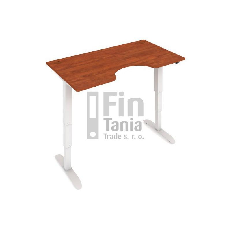 Rostoucí stůl Hobis Motion ERGO MSE 3 1400 - 140 x 90, Barva Šedá, Barva nohou Bílá RAL 9016 Office Pro 099803100 Psací stoly