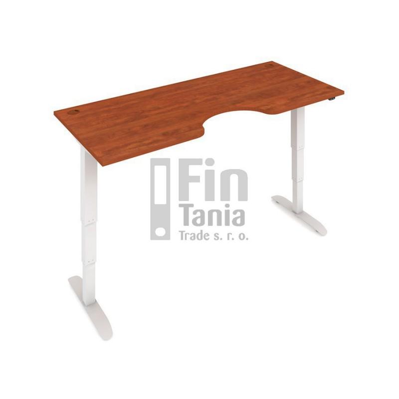 Rostoucí stůl Hobis Motion ERGO MSE 3 1800 - 180 x 90, Barva Šedá, Barva nohou Bílá RAL 9016 Office Pro 099803300 psací stoly