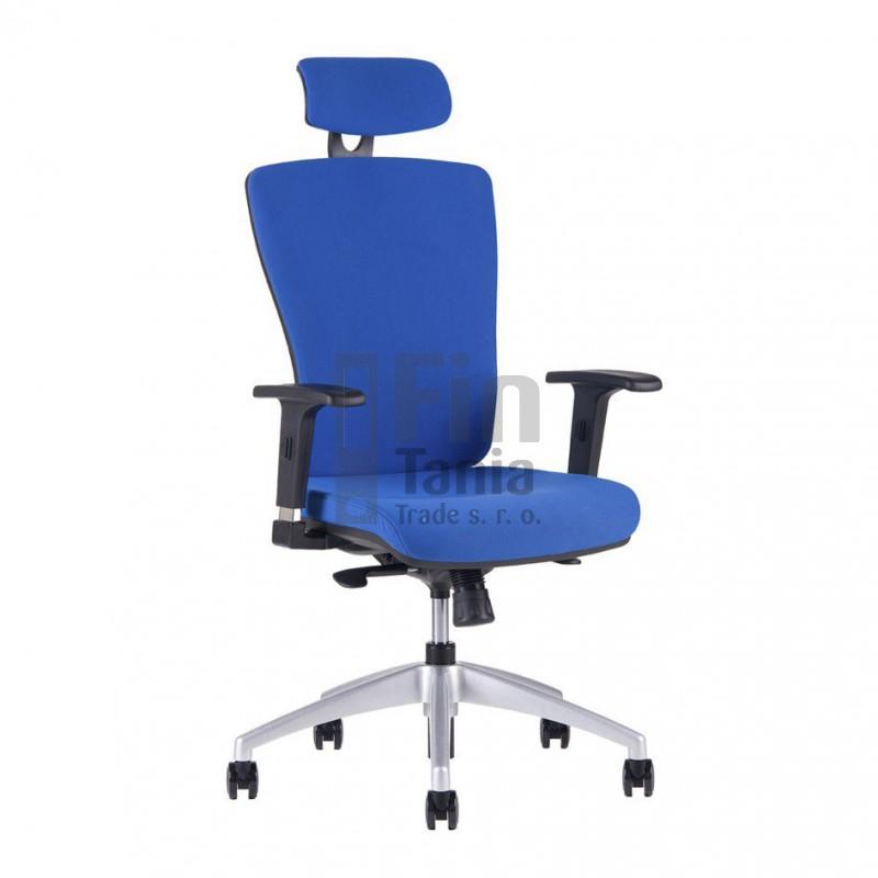 Kancelářská židle HALIA SP, Barva Modrá Office Pro 0734019xx Kancelářské židle a křesla