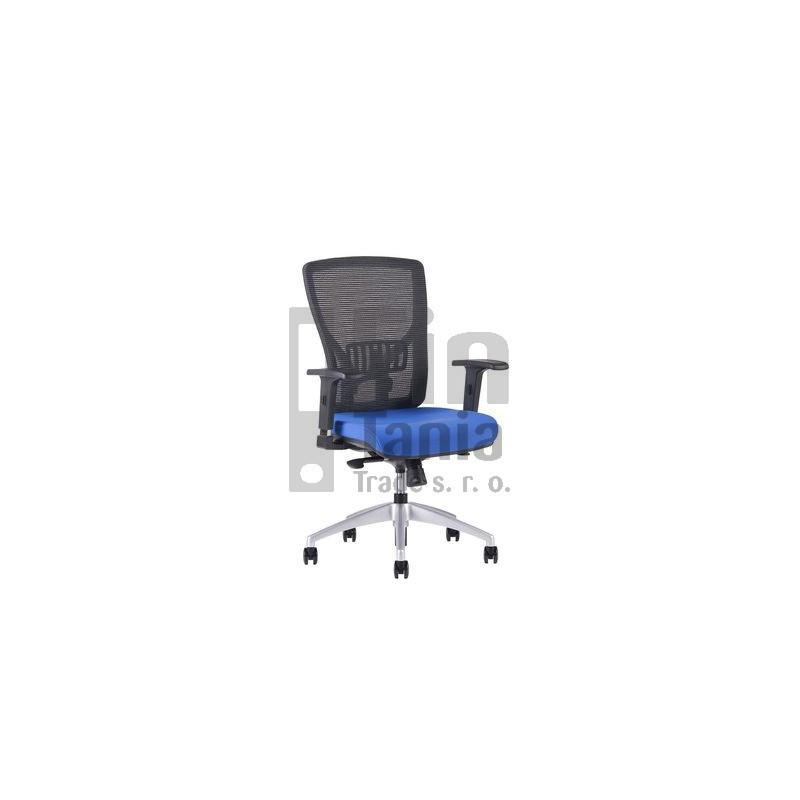 Kancelářská židle HALIA MESH BP, Barva Modrá Office Pro 0734022xx Kancelářské židle a křesla