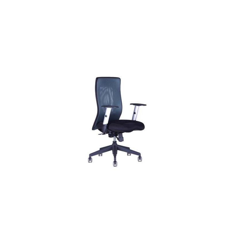 CALYPSO XL BP, kancelářské a jednací židle, 7 barev, Látka 1211 antracit, Sedák černý Office Pro 0707058xx Kancelářské židle a křesla
