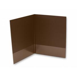 Desky, 2xA4, se spodní záložkou 8 cm, imitace kůže