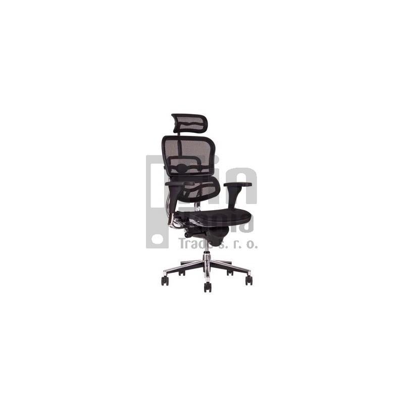 křeslo SIRIUS - doprava zdarma, Látka MESH černá, Sedák MESH černá Office Pro 0733026XX Kancelářské židle a křesla