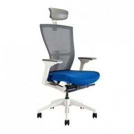 Kancelářská židle MERENS WHITE SP, s podhlavníkem, 3 barvy