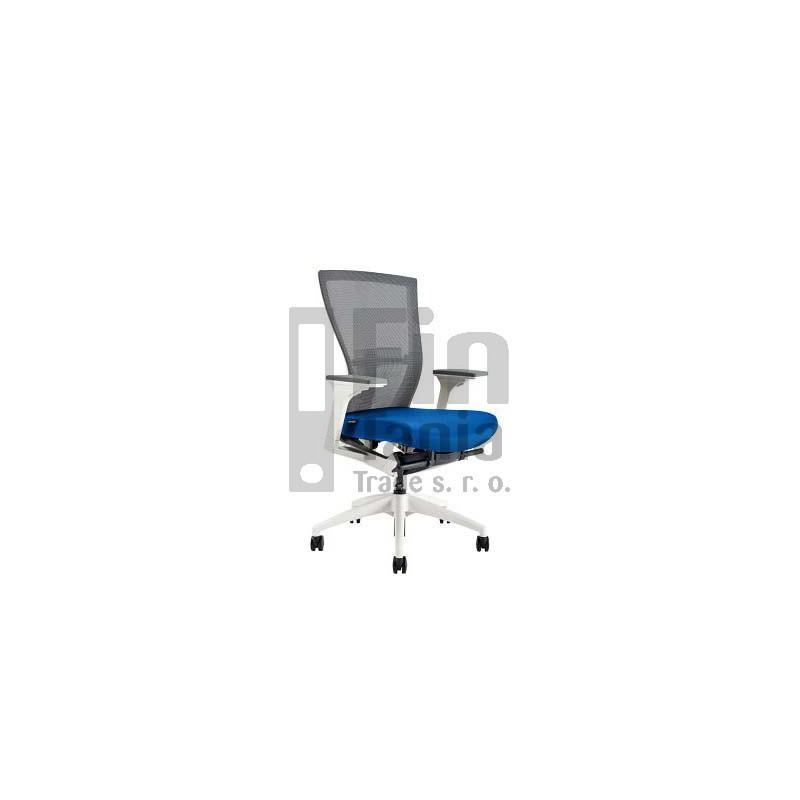 Kancelářská židle MERENS WHITE BP, Látka BI 201 černá Office Pro 0733024xx Kancelářské židle a křesla