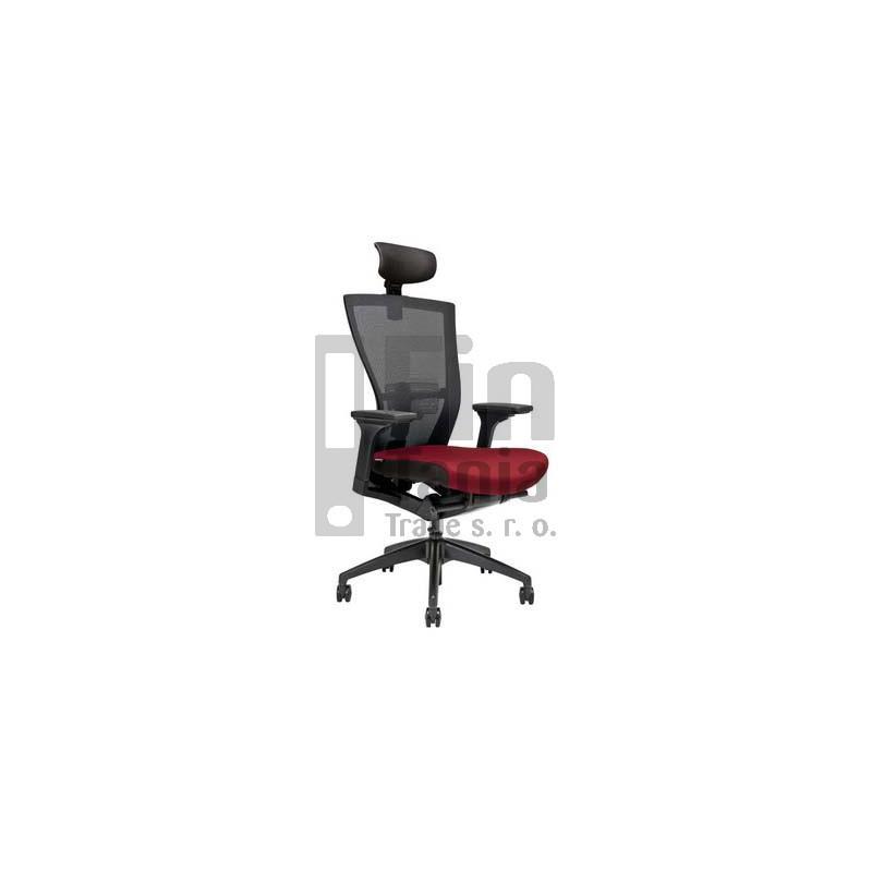 Kancelářská židle MERENS SP, Látka BI 201 černá Office Pro 073308002 Kancelářské židle a křesla