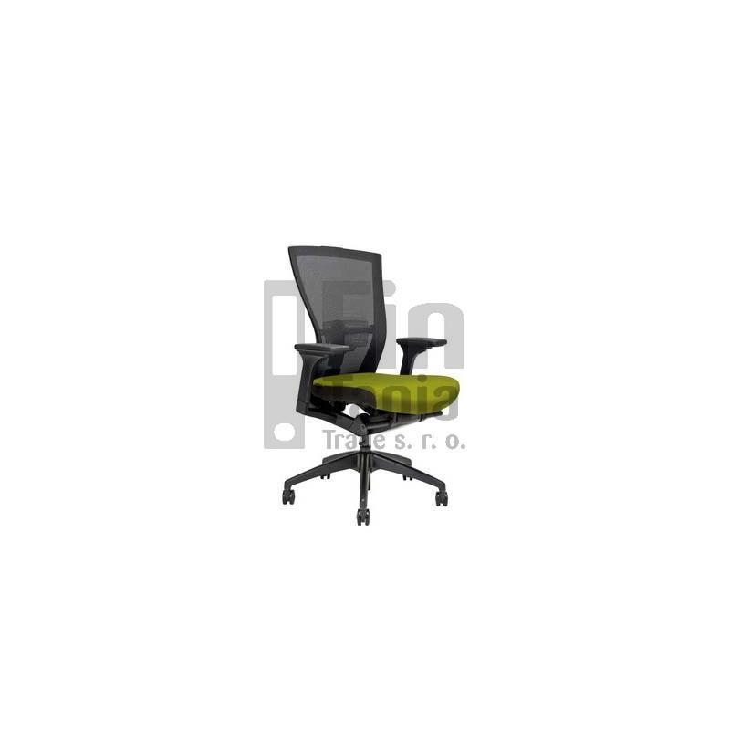 Kancelářská židle MERENS BP, Látka BI 201 černá Office Pro 073309002 Kancelářské židle a křesla