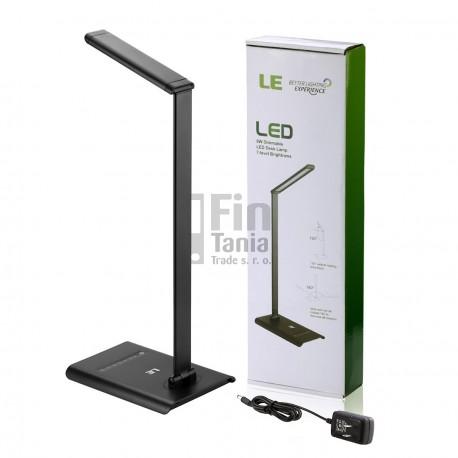LE stolní LED lampa MANAGER, 21 LED, 6W, 7 úrovní jasu