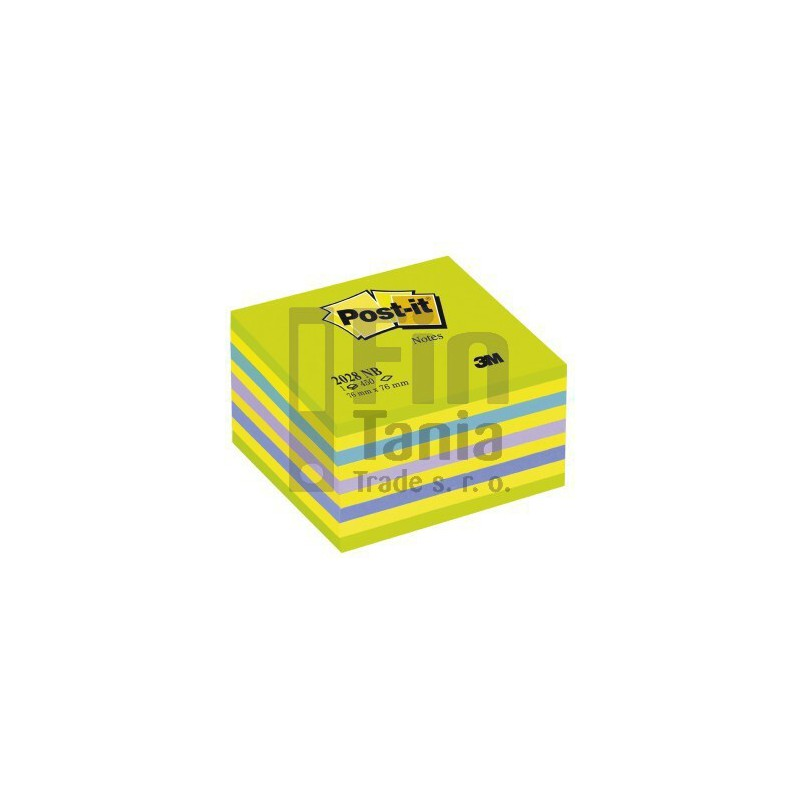 Samolepicí bloček Post-it 76 x 76 mm, 450 lístků 3M 011601700