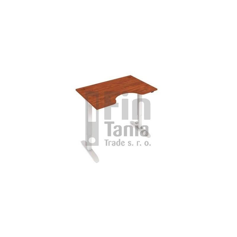 Rostoucí stůl Hobis Motion ERGO MSE 2 1200 - 120 x 90, Barva Šedá, Barva nohou Bílá RAL 9016 Office Pro 099802100 Psací stoly