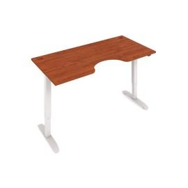 stůl Hobis Motion ERGO MSE 2 1600, elektricky výškově stavitelný stůl s ovladačem, různé barvy desky a nohou